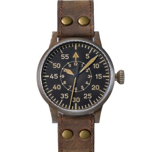 ラコ/LACO/腕時計/オリジナルパイロットウォッチ/24自動巻き/861932/Paderborn Erbstuck/パーダーボルンエアブシュトゥック/ドイツメイド/ミリタリー