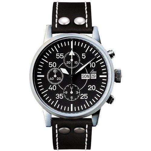ラコ/LACO/腕時計/クロノグラフウォッチ/50自動巻き/861462/Valjoux7750/ドイツメイド/ミリタリー/ブラック