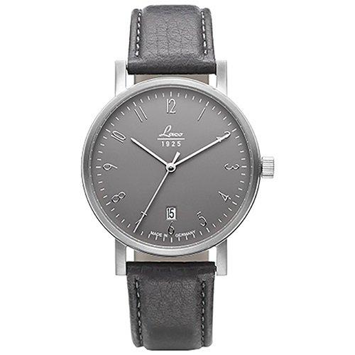 ラコ/LACO/腕時計/クラシックウォッチ/15自動巻き/862065/Chemnitz 38/ケムニッツ38/ドイツメイド/グレー×ダークグレー