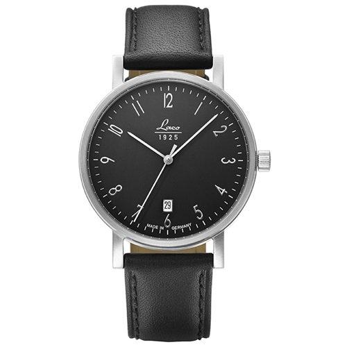 ラコ/LACO/腕時計/クラシックウォッチ/15自動巻き/862067/Jena 38/イェーナ38/ドイツメイド/ブラック×ブラック