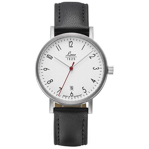 ラコ/LACO/腕時計/クラシックウォッチ/15自動巻き/862071/Halle 38/ハレ38/ドイツメイド/ホワイト×ブラック