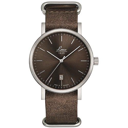 ラコ/LACO/腕時計/クラシックウォッチ/15自動巻き/862077/Mocca 40/モカ40/ドイツメイド/ブラウン×ブラウン