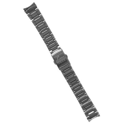ラコ/LACO/腕時計/替えベルト/ステンレスブレスレット/401979/シルバー/18ミリ幅