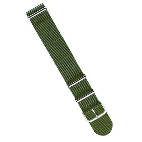 ラコ/LACO/腕時計/替えベルト/NOTOストラップ/402101/グリーン/20ミリ幅