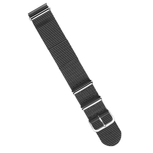 ラコ/LACO/腕時計/替えベルト/NOTOストラップ/401972/ブラック/20ミリ幅
