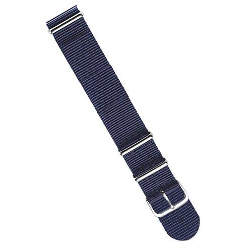 ラコ/LACO/腕時計/替えベルト/NOTOストラップ/402049/ブルー/20ミリ幅