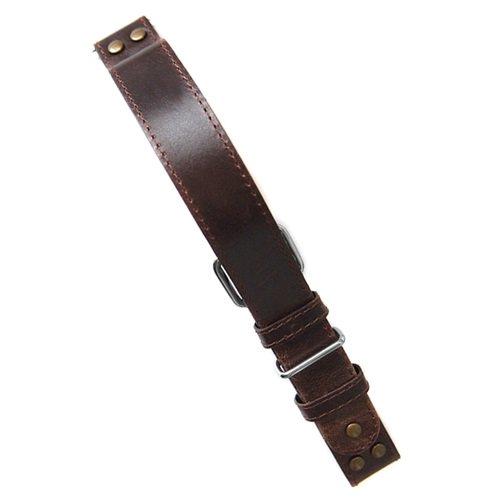 ラコ/LACO/腕時計/替えベルト/パイロットストラップ/401868XXL/ブラウン/22ミリ幅