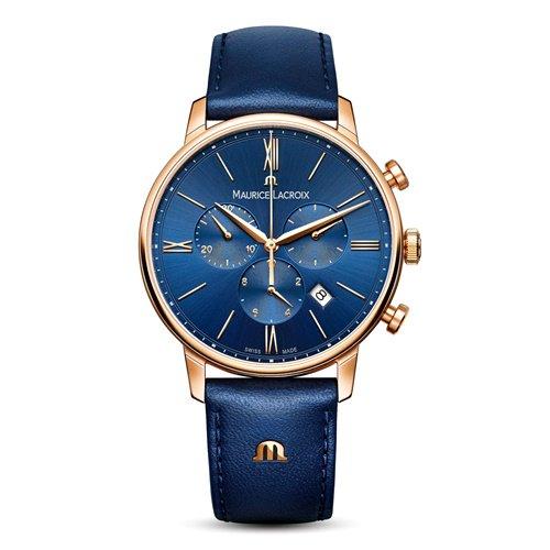 モーリスラクロア/Maurice Lacroix/腕時計/Eliros/EL1098-PVP01-411-1/クロノグラフ/スイスメイド/ブルー×ブルー