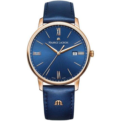 モーリスラクロア/Maurice Lacroix/腕時計/エリロス/Eliros/EL1118-PVP01-411-1/デイトカレンダー/スイスメイド/ブルー×ブルー