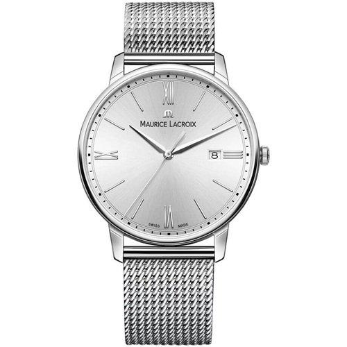 モーリスラクロア/Maurice Lacroix/腕時計/エリロス/Eliros/EL1118-SS002-110-1/デイトカレンダー/スイスメイド/オールシルバー