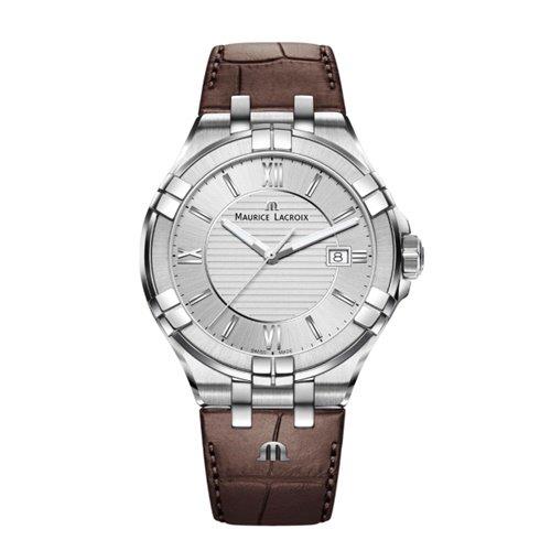 モーリスラクロア/Maurice Lacroix/腕時計/アイコン/AIKON/メンズ/AI1008-SS001-130-1/デイトカレンダー/スイスメイド/シルバー