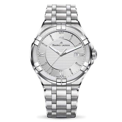 モーリスラクロア/Maurice Lacroix/腕時計/アイコン/AIKON/メンズ/AI1008-SS002-131-1/スイスメイド/シルバー/スチールベルト