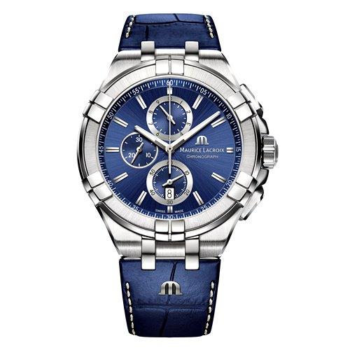 モーリスラクロア/Maurice Lacroix/腕時計/アイコン/AIKON/クロノグラフ/メンズ/AI1018-SS001-430-1/スイスメイド/ブルー