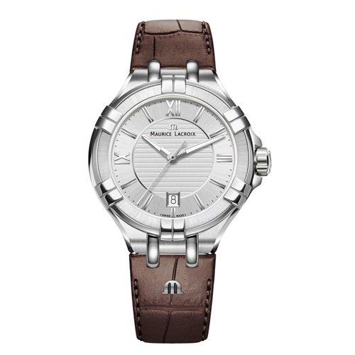 モーリスラクロア/Maurice Lacroix/腕時計/アイコン/AIKON/AI1004-SS001-130-1/レディース/デイトカレンダー/スイスメイド/シルバー