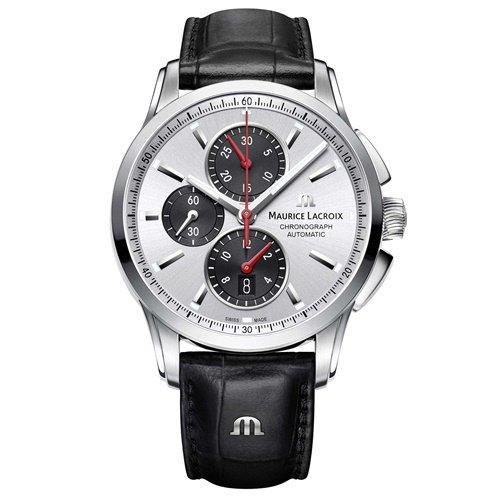 モーリスラクロア/Maurice Lacroix/腕時計/ポントス/Pontos/PT6388-SS001-131-1/オートマチック/スイスメイド/クロノグラフ/シルバー