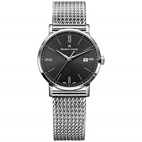 モーリスラクロア/Maurice Lacroix/腕時計/エリロス/Eliros/レディース/EL1084-SS002-313-1/スイスメイド/デイトカレンダー/ブラック/ミラネーゼ