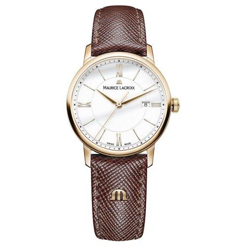モーリスラクロア/Maurice Lacroix/腕時計/エリロス/Eliros/レディース/EL1094-PVP01-111-1/スイスメイド/デイトカレンダー/4N PVD/ホワイト