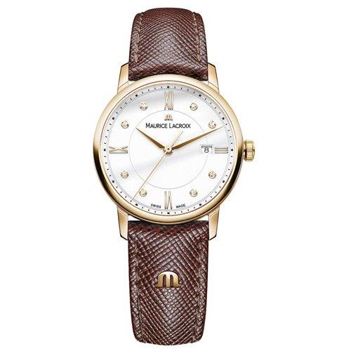 モーリスラクロア/Maurice Lacroix/腕時計/エリロス/Eliros/レディース/EL1094-PVP01-150-1/スイスメイド/デイトカレンダー/ホワイト/ダイヤモンド