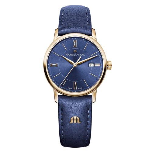 モーリスラクロア/Maurice Lacroix/腕時計/エリロス/Eliros/レディース/EL1094-PVP01-411-1/スイスメイド/デイトカレンダー/4N PVD/ブルー
