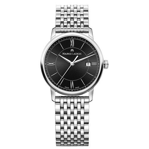 モーリスラクロア/Maurice Lacroix/腕時計/エリロス/Eliros/レディース/EL1094-SS002-310-1/スイスメイド/デイト/ブラック/9連ブレス