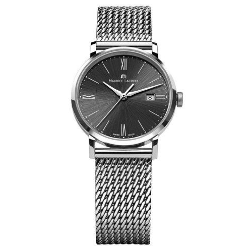 モーリスラクロア/Maurice Lacroix/腕時計/エリロス/Eliros/レディース/EL1094-SS002-310-2/スイスメイド/デイト/ブラック/ミラネーゼ