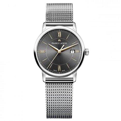 モーリスラクロア/Maurice Lacroix/腕時計/エリロス/Eliros/レディース/EL1094-SS002-311-2/スイスメイド/デイト/グレー/ミラネーゼ