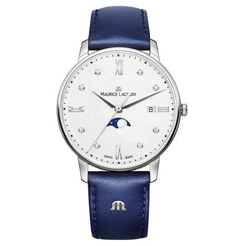 モーリスラクロア/Maurice Lacroix/腕時計/エリロス/Eliros/レディース/EL1096-SS001-150-1/ムーンフェイズ/スイスメイド/ダイヤ/ホワイト