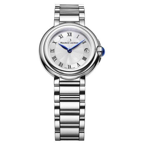 モーリスラクロア/Maurice Lacroix/腕時計/フィアバ/FIABA/レディース/FA1003-SS002-110-1/デイト/オールシルバー