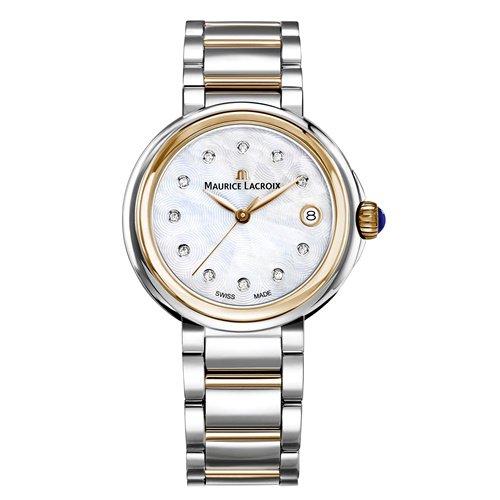 モーリスラクロア/Maurice Lacroix/腕時計/フィアバ/FIABA/レディース/FA1007-PVP13-170-1/デイト/36ミリ/ダイヤモンド/マザーオブパール