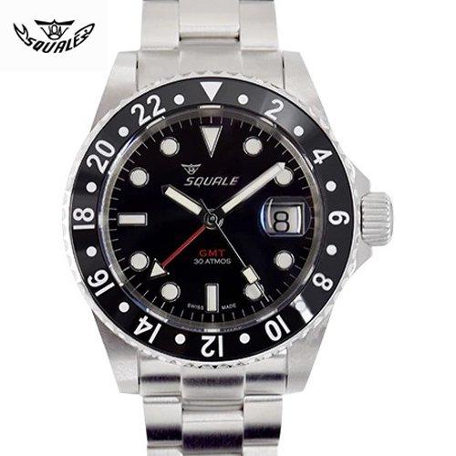 スクワーレ/Squale/時計/300M防水/1545CG-CER/セラミックベゼル/オートマチック/スイスメイド/ダイバーズ/ブラック