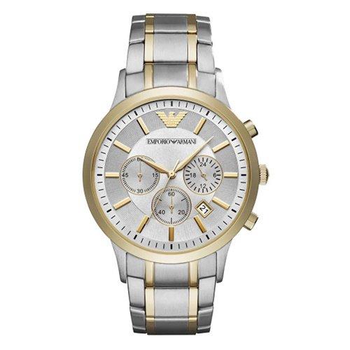 エンポリオアルマーニ/Emporio Armani/腕時計/メンズ/Renato/AR11076/クォーツ/クロノグラフ/ツートーン