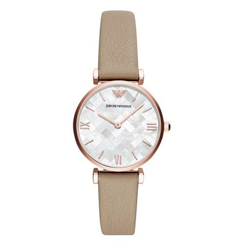 エンポリオアルマーニ/Emporio Armani/腕時計/レディース/GIANNI T-BAR/ジャンニAR11111/クォーツ/マザーオブパール