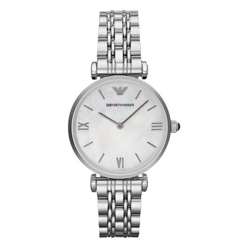 エンポリオアルマーニ/Emporio Armani/腕時計/レディース/GIANNI T-BAR/ジャンニAR1682/クォーツ/マザーオブパール