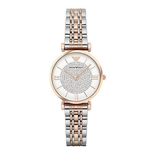 エンポリオアルマーニ/Emporio Armani/腕時計/レディース/GIANNI T-BAR/ジャンニ/AR1926/クォーツ/クリスタルパヴェ/ツートーン