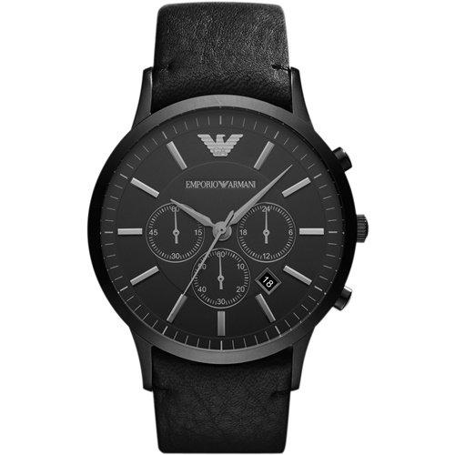 エンポリオアルマーニ/Emporio Armani/腕時計/メンズ/Sportivo/スポルティーボ/AR2461/クォーツ/クロノグラフ/オールブラック