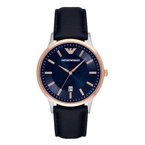 エンポリオアルマーニ/Emporio Armani/腕時計/メンズ/Renato/レナト/AR2506/クォーツ/ネイビー×ネイビー