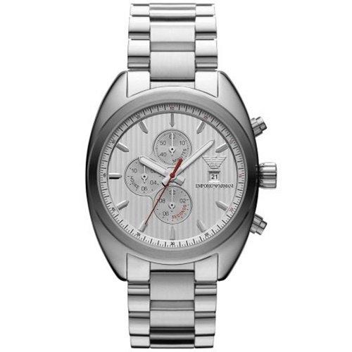 エンポリオアルマーニ/Emporio Armani/腕時計/メンズ/Sportivo/スポルティーボ/AR5958/クォーツ/クロノグラフ/シルバー