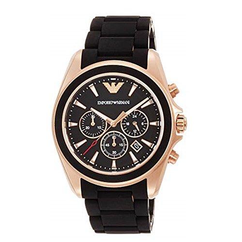 エンポリオアルマーニ/Emporio Armani/腕時計/メンズ/Sportivo/スポルティーボ/AR6066/クォーツ/クロノグラフ/ブラック