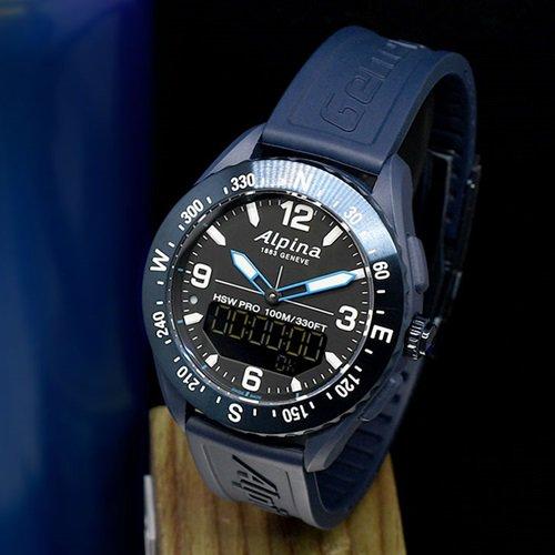 アルピナ/Alpina/腕時計/ALPINERX/アルパイナーX/メンズ/スイスメイド/AL-283LBN5NAQ6/ネイビーブルー/スマートウォッチ