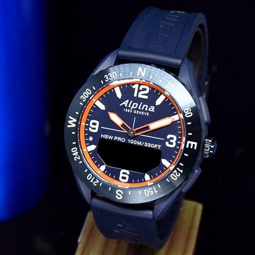 アルピナ/Alpina/腕時計/ALPINERX/アルパイナーX/メンズ/スイスメイド/AL-283LNO5NAQ6/ネイビーブルー/スマートウォッチ