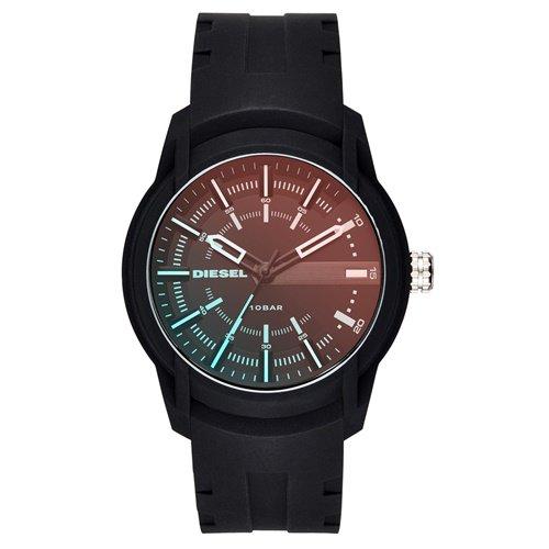 ディーゼル/Diesel/腕時計/ARMBAR/アームバー/メンズ/DZ1819/クォーツ/デイトカレンダー/オンブルブラック×ブラック