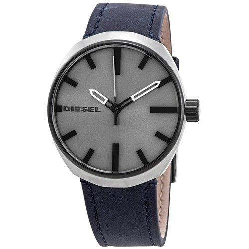 ディーゼル/Diesel/腕時計/Klutch/クラッチ/メンズ/DZ1832/クォーツ/ミニマルデザイン/グレー×ブルー