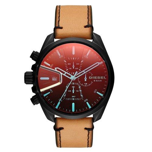 ディーゼル/Diesel/腕時計/MS9/メンズ/DZ4471/クォーツ/クロノグラフ/デイトカレンダー/ブラック×ベージュ