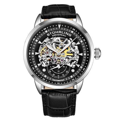 ストゥーリングオリジナル/Stuhrling Original/腕時計/Legacy/Executive133/133.33151/メンズ/オートマチック/スケルトン/ブラック