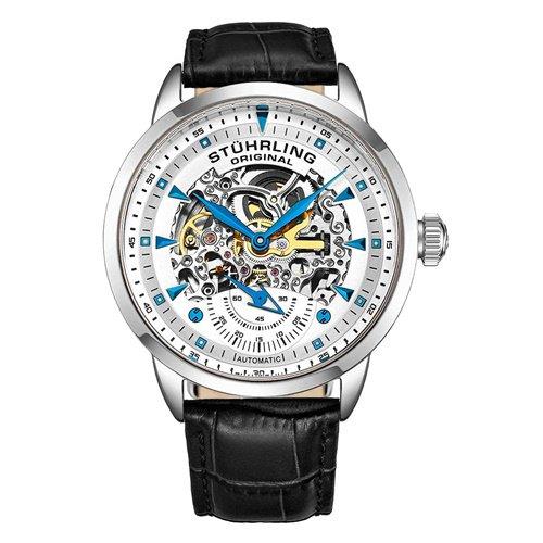 ストゥーリングオリジナル/Stuhrling Original/腕時計/Legacy/Executive133/133.33152/メンズ/オートマチック/スケルトン/シルバー