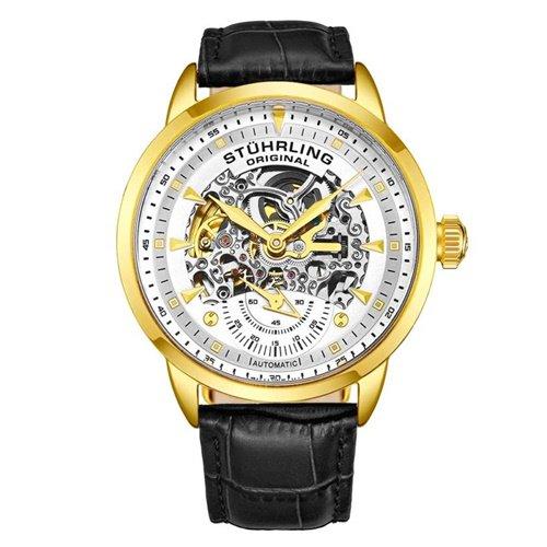 ストゥーリングオリジナル/Stuhrling Original/腕時計/Legacy/Executive133/133.33352/メンズ/オートマチック/スケルトン/シルバー