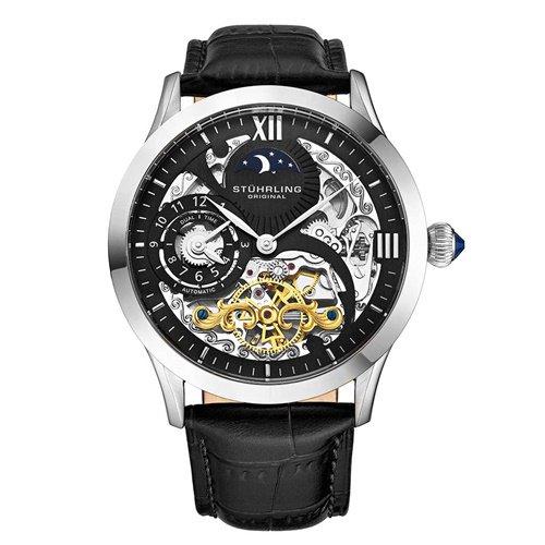 ストゥーリングオリジナル/Stuhrling Original/腕時計/Legacy/Special Reserve 571/571.33151/メンズ/オートマチック/デュアルタイム/シルバー