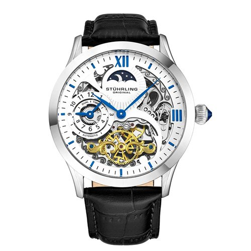ストゥーリングオリジナル/Stuhrling Original/腕時計/Legacy/Special Reserve 571/571.33152/メンズ/オートマチック/デュアルタイム/ホワイト