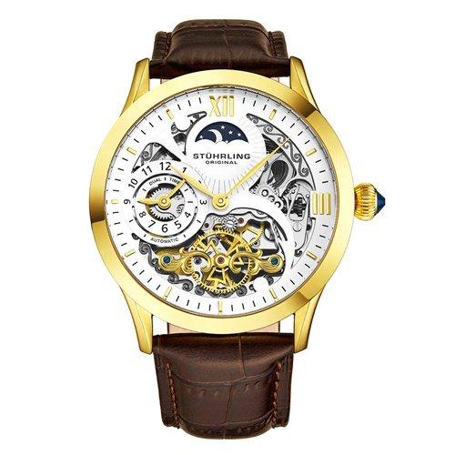 ストゥーリングオリジナル/Stuhrling Original/腕時計/Legacy/Special Reserve 571/571.3335K2/メンズ/オートマチック/デュアルタイム/ゴールド
