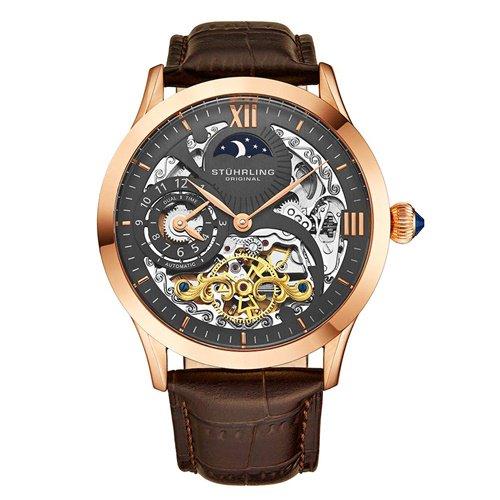 ストゥーリングオリジナル/Stuhrling Original/腕時計/Legacy/Special Reserve 571/571.3345K54/オートマチック/デュアルタイム/ローズゴールド